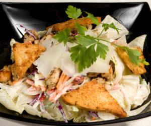 Ceasar Salad a'la Don Vito - garnélás