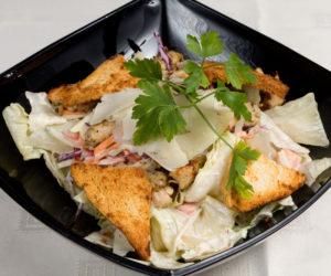 Ceasar  saláta a'la Don Vito - vegetáriánus